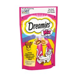 Dreamies Adult 1+ Cat Treats Mixed with Cheese and Beef 60g