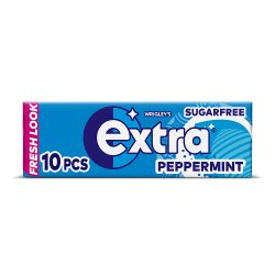 Wrigley's Extra Peppermint Sugarfree Gum 10 Pieces 14g