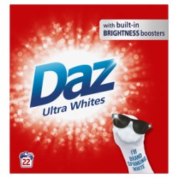 Daz Washing Powder Ultra Whites 1.43Kg 22 Washes