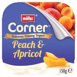 Müller® Corner® Yogurt Peach & Apricot 150g