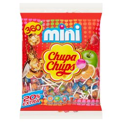 Chupa Chups Assorted Flavour Mini Lollipops 2160g
