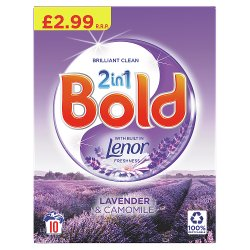 Bold 2in1 Washing Powder Lavender & Camomile 650Kg 10 Washes