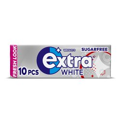 Wrigley's Extra White Chewing Gum 10 Pieces 14g