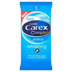 Carex Complete Refreshing Wipes x15