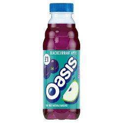 Oasis Blackcurrant Apple 500ml PMP £1