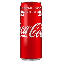Coca-Cola Original Taste 250ml PMP 65p