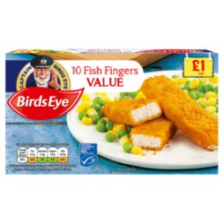 Birds Eye Fish Fingers PM £1.00