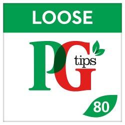 PG tips Original Loose Tea Cups 80