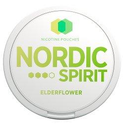 Nordic Spirit Nicotine Pouches Elderflower 9mg