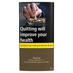 Sterling Rolling Tobacco 3 in 1 30g