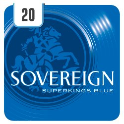 Sovereign Superkings Blue 20 Cigarettes