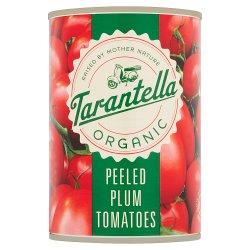 Tarantella Organic Peeled Plum Tomatoes 400g