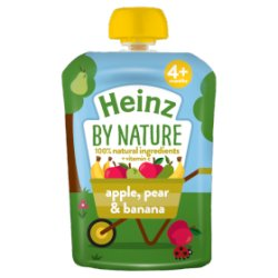 Heinz Apple, Pear & Banana Fruit Pouch 100g