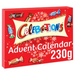 Celebrations Chocolate Christmas Advent Calendar 230g