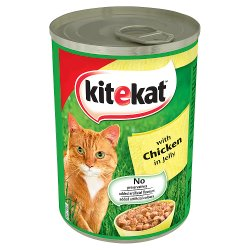 KITEKAT Cat Tin with Chicken in Jelly 400g