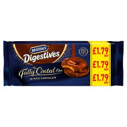 McVitie's Digestives The Fully Coated One in Milk Chocolate 149g