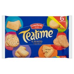 Crawford's Teatime Biscuits 275g