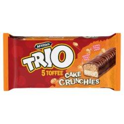 McVitie's Trio 5 Toffee Cake Crunchies