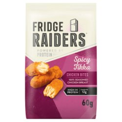 Fridge Raiders Spicy Tikka Chicken Bites 60g