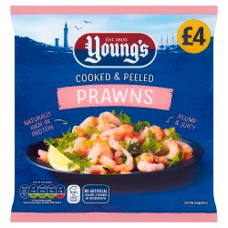 Younf Cooked & Peeled Prawns GBP4.00