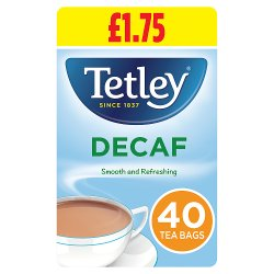 Tetley Original Decaf Tea Bags PMP x40