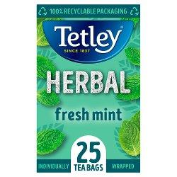 Tetley Mint Fusion Tea Bags x25