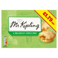 Mr Kipling Apple Pies £1.79