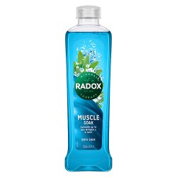 Radox Muscle Soak Bath Soak 500ml