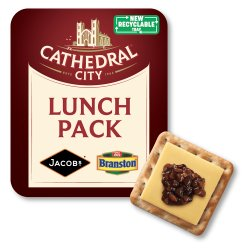 Cathedral City Mature Cheddar, Crackers & Pickle 122g