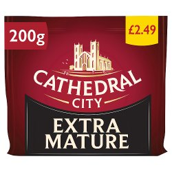 Cathedral City Extra Mature Cheddar Cheese 200g PM £2.49