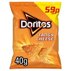 Doritos Tangy Cheese Tortilla Chips 59p PMP 40g