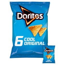 Doritos Cool Original Tortilla Chips 6x30g