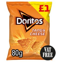 Doritos Tangy Cheese Tortilla Chips PMP 80g