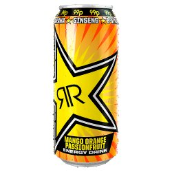 Rockstar Juiced Mango, Orange & Passion Fruit 500ml Can
