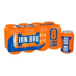 Irn Bru 8pk GBP2.50