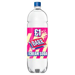 Barr American Cream Soda 2 Litre Bottle