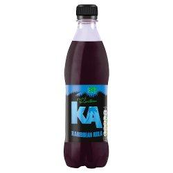KA Sparkling Karibbean Kola 500ml Bottle, PMP 99p