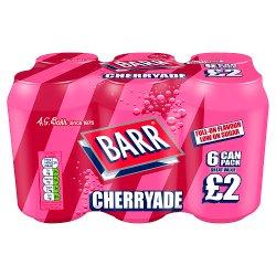 Barr Cherryade 6 x 330ml, PMP £2