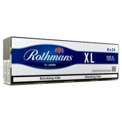 Rothmans Blue XL King Size 8 x 24 Cigarettes