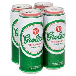 Grolsch Premium Lager 4 x 500ml