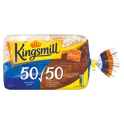 Kingsmill 50/50 Medium Bread 800g
