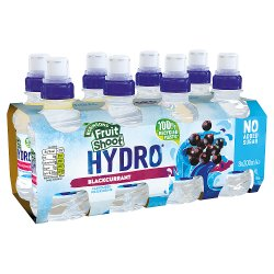 Robinsons Fruit Shoot Hydro Blackcurrant Kids Fruit Flavoured Water 8 x 200ml