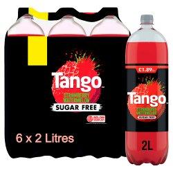 Tango Sugar Free Strawberry and Watermelon 6 x 2L