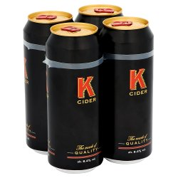 K Cider Cans 500ml