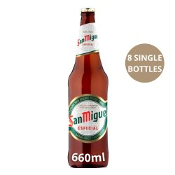 San Miguel Especial Premium Lager 660ml Bottle