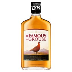 The Famous Grouse, Finest Blended Scotch Whisky, £9.79 PMP, 350ml