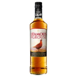 The Famous Grouse, Finest Blended Scotch Whisky, £16.49 PMP, 700ml