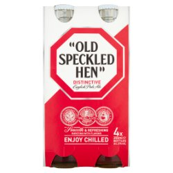 Old Speckled Hen Distinctive English Pale Ale 4 x 355ml