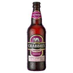 Crabbie's Alcoholic Ginger Beer Scottish Raspberry 500ml
