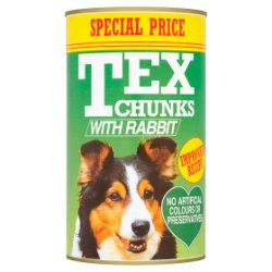 Tex Chunks with Rabbit 1.2kg